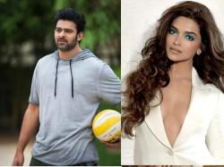 Deepika Padukone To Star Opposite Prabhas A Bollywood Movie