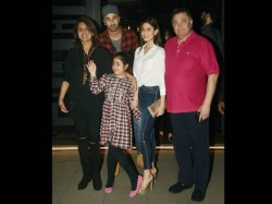 Ranbir Kapoor Dinner Date With Family And Niece Samaira