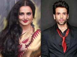 Rekha Asks Guest Delete Her Video At Event Tusshar Manages Situation