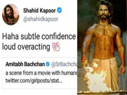 Shahid Kapoor Postes Cryptic Tweet And Delete It
