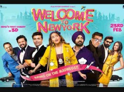 India S First 3d Comedy Movie Welcome To Newyork Poster And Leaked Chat