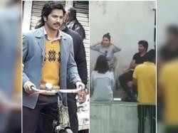 Sui Dhaga Made India Varun Dhawan Anushka Sharma Shoot Film Chanderi