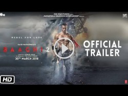 Baaghi 2 Official Trailer Starring Tiger Shroff Disha Patani