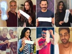 Here Are Star Including Katrina Kaif Who Accepts Akshay Padman Challenge