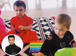 Karan Johar S Twins Yash Roohi First Birthday Party