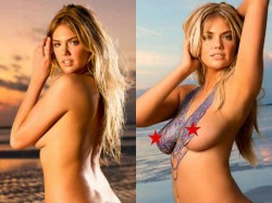 Kate Upton Body Paint Photo Shoot Pictures Going Viral