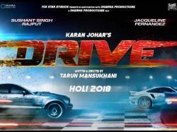 Sushant Singh Rajput Jacqueline Fernandez Drive New Release Date