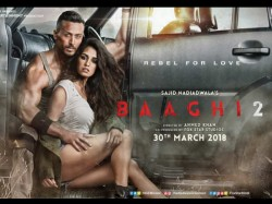 Second Poster Baaghi 2 Starring Tiger Shroff Disha Patani