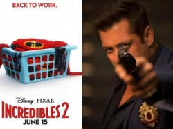 Salman Khan S Race 3 Battle With Incredible 2 This Eid