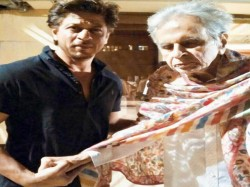 Shahrukh Khan Meet Dilip Kumar See Photo