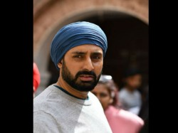 Abhishek Bachchan New Turban Look From Manmarziyaan