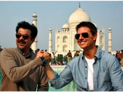 Anil Kapoor Reunion With Tom Cruise In Abu Dhabi Have Look