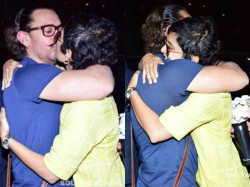 Aamir Khan Cute Pictures Kissing His Wife Went Viral