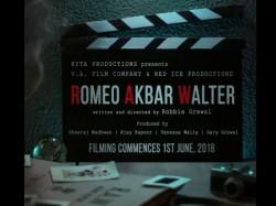 John Abraham Starrer Romeo Akbar Walter Shooting Completed