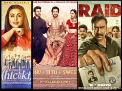 Hichki Raid Sonu Ke Titu Ki Sweety Stay Steady At Box Office Despite Baaghi 2 Opening
