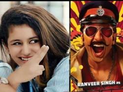 Karan Johar Rohit Shetty Cast Priya Varrier With Ranveer Singh In Simmba