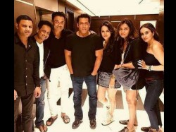 Salman Khan Bobby Deol Pic With The Entire Race 3 Team In Abu Dhabi
