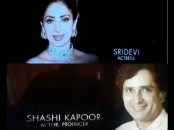 Sridevi Shashi Kapoor Honoured The Memoriam Tribute Video In Oscar Awards