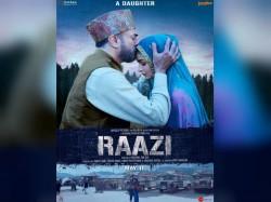 Raazi New Poster Release