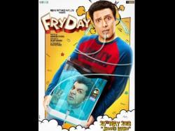 Fryday New Poster Govinda Tries Hard Tickle Bone With Varun Sharma