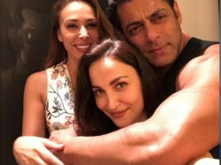 Salman Khan Iulia Vantur Come Together For A Cosy Picture
