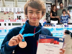 Mind Blowing R Madhavan S 12 Year Old Son Wins Bronze India