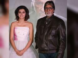 Badla Amitabh Bachchan Taapsee Pannu S Movie Go On Floors June