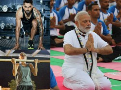 Anushka Sharma Takes Up Virat Kohli S Fitness Challenge Name Hum Fit To India Fit