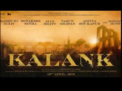 Varun Dhawan Madhuri Dixit Sonakshi Sinha Role Upcoming Film Kalank