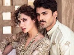 Fawd Khan Mahira Khan Shoot For Sadaf Khan S Collection