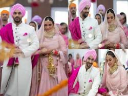 Neha Dhupia Angad Bedi Get Secretly Married Karan Johar Announces