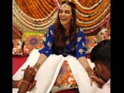 Neha Dhupia Was Already Married Angad Bedi Hints Statement