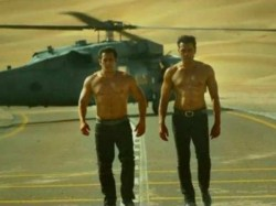 Salman Khan Bobby Deol S Shirtless Scene From Race 3 Has Backstory