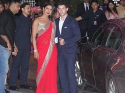 Akash Ambani Shloka Mehta Engagement Priyanka Chopra Nick Jonas Couple Entry