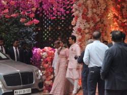 Akash Ambani Shloka Mehta Pre Engagement Party Shahrukh Khan Ranbir Kapoor Alia Bhatt
