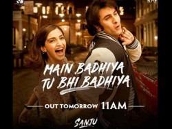 Sanju First Song To Be Released Tomorrow