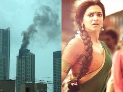 Fire At The Top The Building Where Deepika Padukone Stays