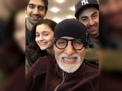 Amitabh Bachchan Shares Selfies From Brahmastra Prep Makes Typo And Refers Ranbir Ranveer