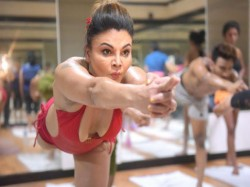 Rakhi Sawant Hot Yoga Pic Viral On International Yoga Day