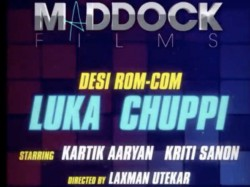 Kriti Sanon Karti Aaryan Come Together A Rom Com Titled Luka Chuppi