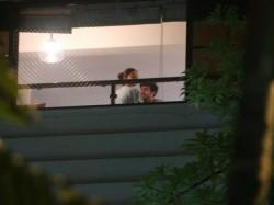 Viral Photos Ranbir Kapoor Visits Alia Bhatt S House At Night Mahesh Bhatt Joins