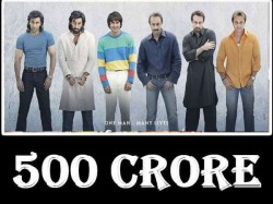 Sanju Worldwide Box Office Enters 500 Crore Club