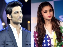 Sushant Singh Rajput May Romance With Alia Bhatt Sadak