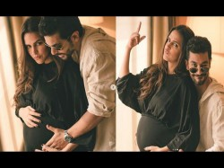 Neha Dhupia Is Pregnant Angad Bedi Announces With Adorable Post