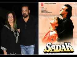 Pooja Bhatt Sanjay Dutt Took Initiative Make Sadak