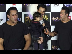 Salman Khan His Nephew Ahil Sharma Funny Video Gone Viral