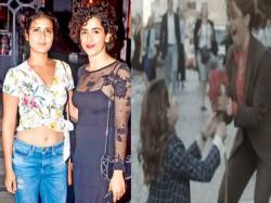 Fatima Sana Shaikh Sanya Malhotra Dancing On The Streets Europe