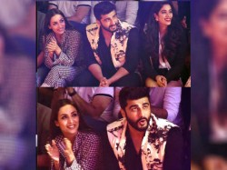 Malaika Arora Arjun Kapoor Create Ripples While Sitting Together At Lakme Fashion Week
