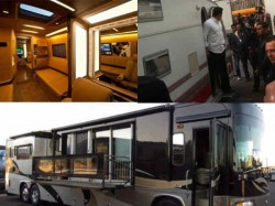Salman Khan Vanity Van Is No Less Than Five Star Hotel Room See Pics