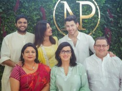 Priyanka Chopra Nick Jonas Roka Ceremony Inside Pics From The Family Function